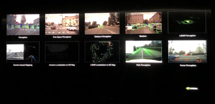 Image: AI for self-driving cars (NVIDIA demo center)